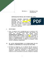 Querella difamación Diario La Primera.doc