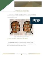 diceox - pasos