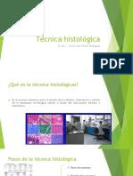 Técnica Histológica