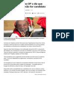 014-08 _MST faz protesto no DF e diz que 'vai à luta' se Lula não for candidato - Notícias - UOL Eleições 2018
