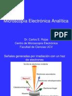 Microscopía Electrónica Analítica 2018