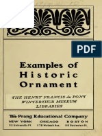 Examples of Historic Ornaments