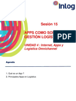 Sesion 15 Apps en g. Logistica