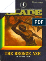 Blade 01 - The Bronze Axe - Jeffrey Lord