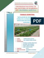 Trabajo Semestral (Diseño Rural)