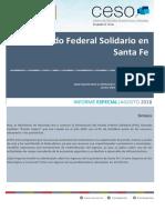 Fondo Sojero a Santa Fe - Agosto 2018