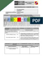 Informe Pedagogico 2018 Modelo