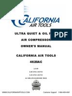 California Air Tools 4620AC Owner's Manual 6-16