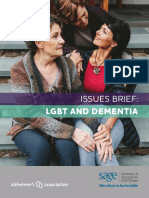 Lgbt Dementia Issues Brief