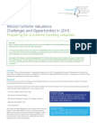 Deloitte UK Pension Scheme Valuations Challenges Opportunities 2015