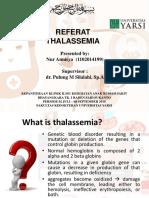 Ppt Thalassemia Sasya Fix