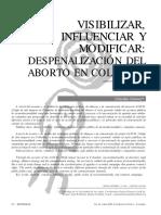 Visibilizar Influenciar Y Modificar.pdf