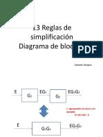 Reducción de diagramas de bloques