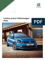 Listino Prezzi Volkswagen Polo 170523