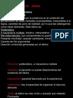 PDA Psicosis Delirante Aguda