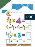 Actividades Tablas de Multiplicar