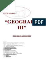Guia de Estudios Geografia Tercer Cuatrimestre.