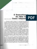 GALVÃO, Maria Rita - Cinema Independente - Cadernos Da Cinemateca.