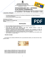 AvaliacaoDiagnostica Simulado2017(Mat.elp5ano)EF