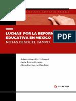 Luchas por la reforma educativa en Mexico - CLACSO.pdf