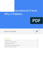 The Conversational UI and Why It Matters