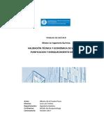 Universidad de Cataluña - Validación Técnica y Económica de Sistemas de Purificación y Enriquecimiento de Biogás