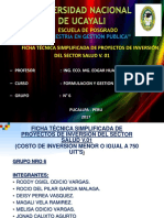 Trabajo de Presentación de Diapositivas de Formulacion y Gestión de Proyectos Trabajo Final
