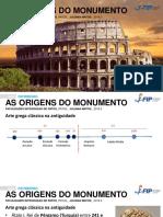 AULA  2 - O HUMANISMO E O MONUMENTO ANTIGO.pdf