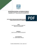 Aplicación de Bim (Building Information Modeling) en La Formulación de Proyectos Inmobiliarios