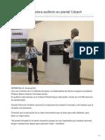 13-08-2018-Inaugura Gobernadora Auditorio en Plantel Cobach- El Imparcial