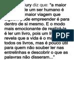 Augusto Cury diz que.docx