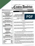 Acuerdo Gubernativo No. 121-2018