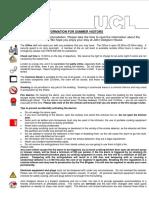 John Dodgson House - Information Leaflet