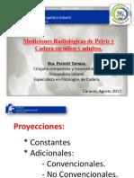 Mediciones Radiologica de Cadera y Pelvis Adultos y Ni;Os