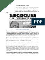 O Suicídio de Getúlio Vargas