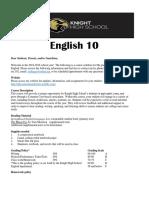 english 10 syllabus 2018-19