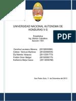 Informe de Estadistica (Minitab) Final
