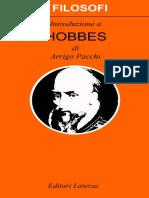 PACCHI, Arrigo. Introduzione a Hobbes