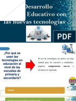 Desarrollo Social y Educativo Con Las Nuevas Tecnologias