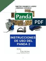 Instrucciones de Uso Del Panda 2 v1.03