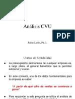 Análisis CVU - 2018