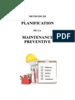 planification maintenance