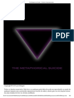 the Metaphorical Suicide - A Guide to Hyperawareness Morgue Pootugues