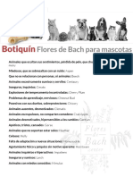 Botiquin Mascotas Flores de Bach Center