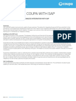 SAP Coupa Integration