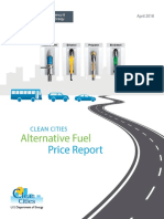Alternative Fuel Price Report April 2018
