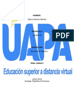 Educacion a Distancia Tarea II