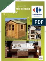 folleto Carrefour jardin