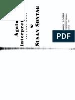 Sontag Against Interpretation