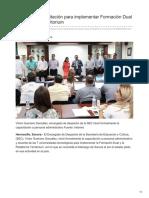 03-08-2018 Inicia SEC capacitación para implementar Formación Dual y Plataforma Territorium - La tribuna